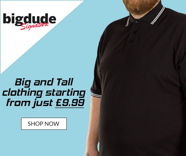 Big Dude Big Size Mens Clothing