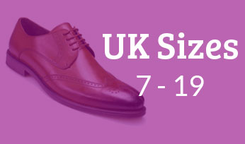 big mens footwear from UK sizes 7 to 19
