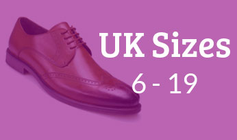 big mens footwear from UK sizes 6 to 19