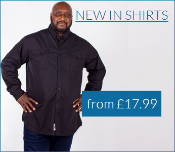 New Shirts from only £17.99